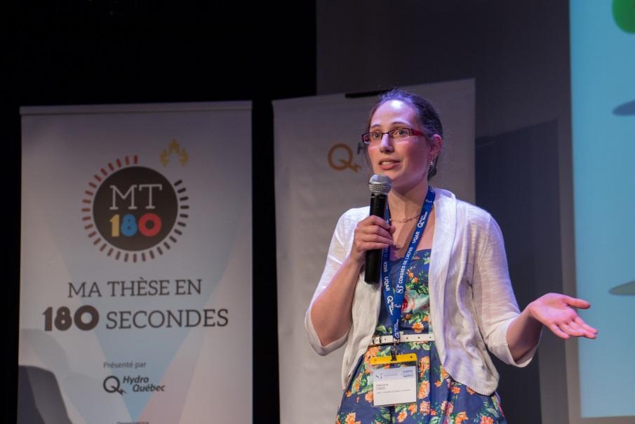 Stéphanie Cimon de l'Université du Québec à Chicoutimi, 2015