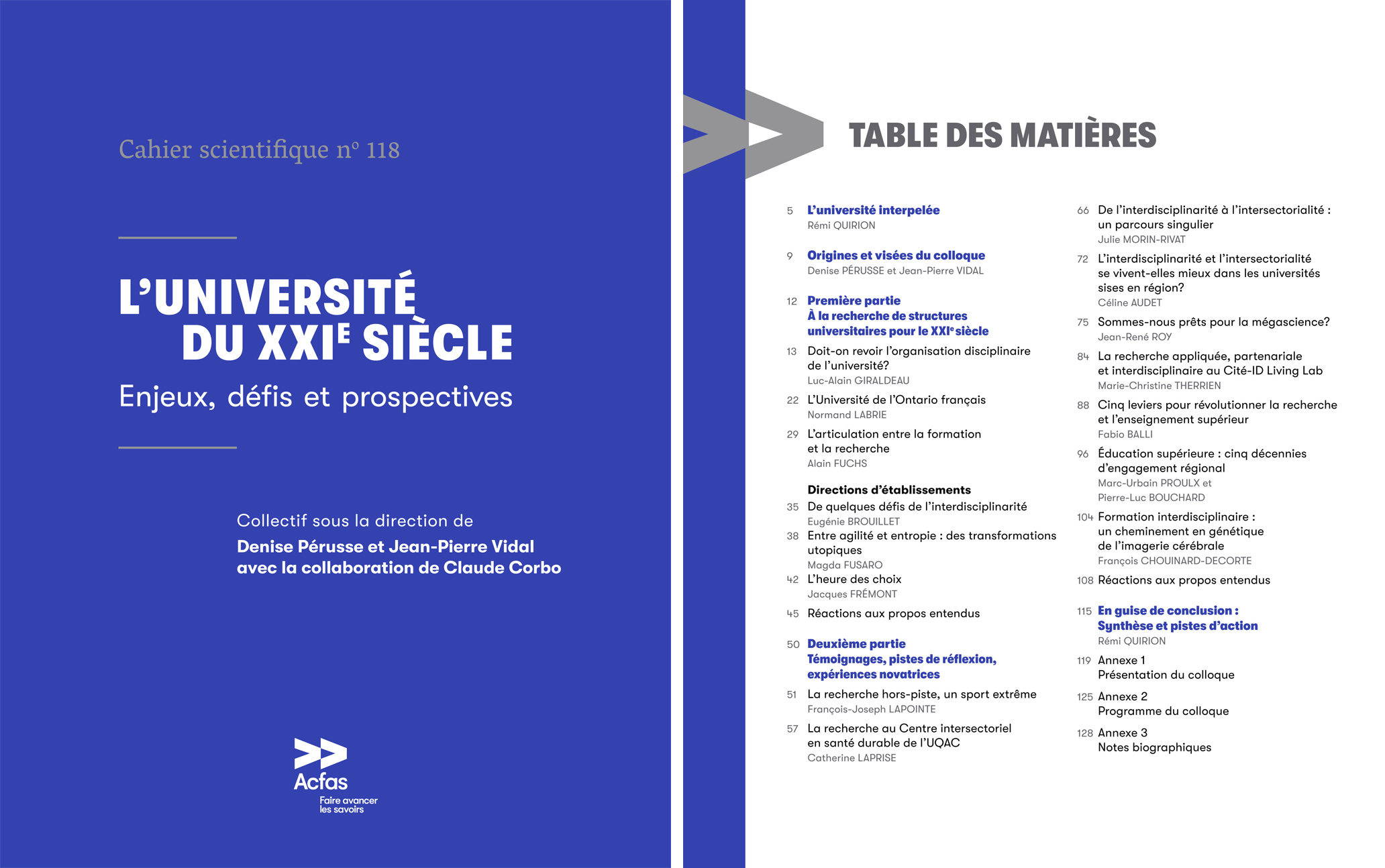 Cahier scientifique 118
