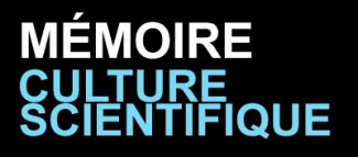 Mémoire Culture scientifique