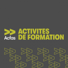 Formations Acfas